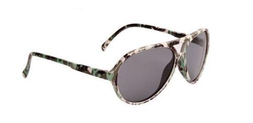 Camo Grün Jungen Aviator Sonnenbrille kühle Farbtöne Kinder Kinder Kleinkinder 100% UV-Schutz 64