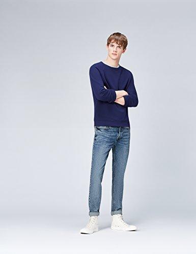 Test FIND Slim Fit Jeans Herren mit Acid-Waschung, Mittelhohem Bund ... 0033c742f7