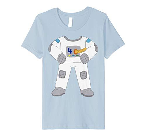 Kinder 4 Years Old Astronaut Kostüm 4th Birthday -