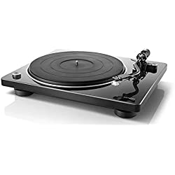 Denon DP-400 - Giradiscos, color negro