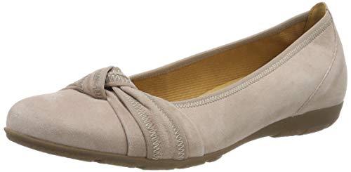 Gabor Shoes Damen Casual Geschlossene Ballerinas, Mehrfarbig (Antikrosa 14), 39 EU