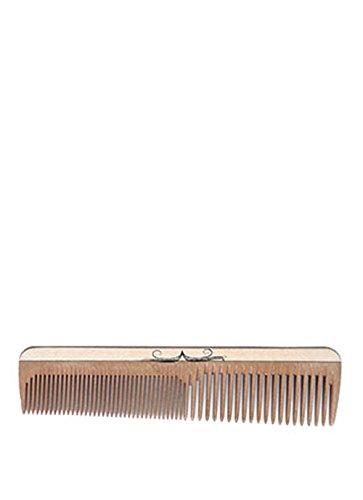 Bartpracht Bartkamm (16cm), Kamm aus stabilem Hartholz, entwirrt den Bart, handgefertigt, antistatisch, Taschenkamm, Naturprodukt Made in Germany
