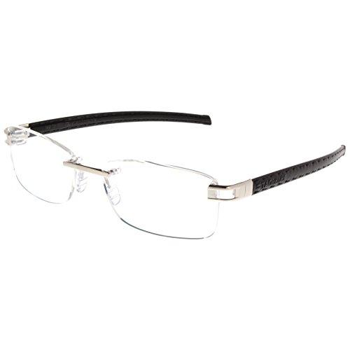 Preisvergleich Produktbild TAG Heuer Herren Brillengestell Schwarz Schwarz
