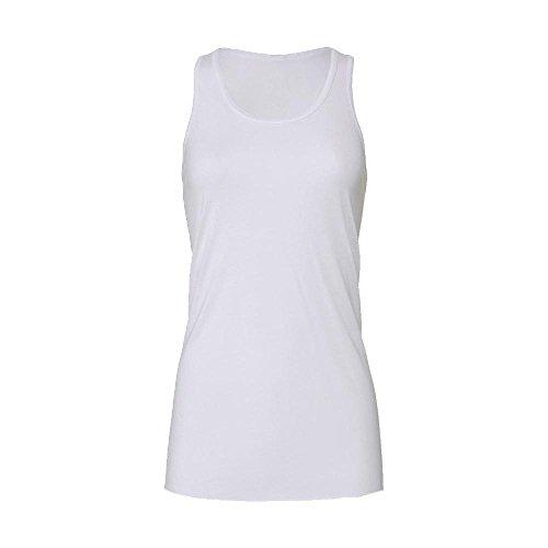 Bella - Leichtes oversized Longtop White