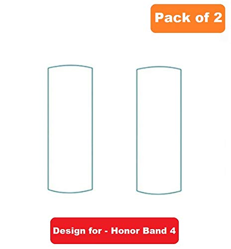 iloft Ultra Thin Screen Scratch Guard Protector Film for Honor Band 4 (Pack of 2)(Crius-B19)