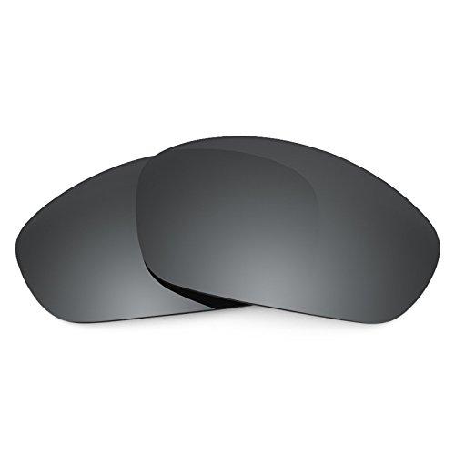 Revant Ersatzlinsen für Oakley Straight Jacket (2007) Schwarz Chrom MirrorShield®