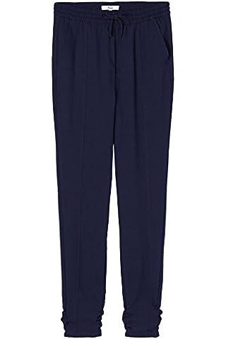 FIND Damen Hose Woven Jogger, Blau (Navy), 40 (Herstellergröße: Large)