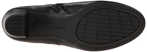 Hush Puppies Corie Imagery di avvio Black Leather