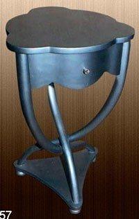 LouisXV Barock Tisch Beistelltisch rund Rokoko MoCoC02571 antik Stil Massivholz. Replizierte...