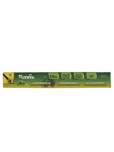 Cevik TECA503.25RU - Caja 50 uds electrodos rutilo 3,25 mm