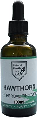 Hawthorn Berry Herbal Tincture 100ml from Natural Health 4 Life
