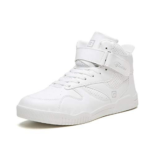 Jimmackey- Scarpe Casual Alte da Uomo Moda Studente Tendenze Aumento Scarpe Sneakers Uomo Donna Scarpe da Ginnastica Sportive Scarpe