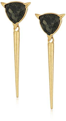 nicole-miller-nme21352-trilliant-spike-gold-drop-earrings