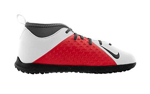 wholesale dealer 639ae afb65 Nike Jr Phantom Vsn Club DF TF, Zapatillas de Deporte Unisex niño, (Pure