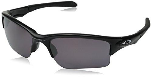 Oakley Herren Quarter Jacket Sonnenbrille, Schwarz (Matte Black/Prizmdailypolarized), 61