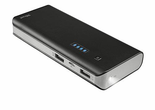 Galleria fotografica Trust Urban Primo Caricabatterie Portatile da 13000 mAh con 2 Porte USB, Nero