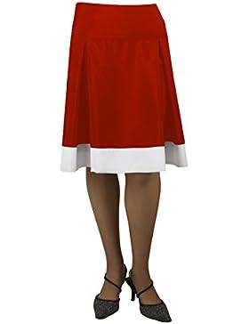 Falda Rojo Piera