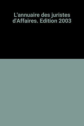 L'annuaire des juristes d'Affaires