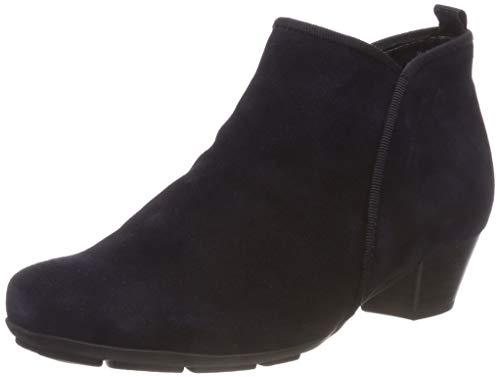Gabor Shoes Damen Basic Stiefeletten, Blau (Ocean 16), 40.5 EU