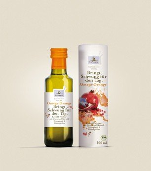 Bio Planete - Omega Orange Leinöl-Mixtur - 100 ml