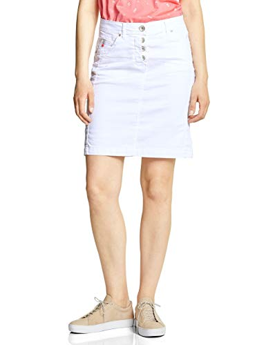 Cecil Damen 360367 Jenna Rock, White, Large (Herstellergröße:31) -