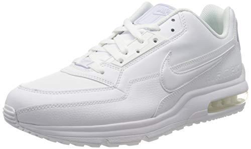 Nike Mens Air Max Ltd 3 Sneaker, White/White-White, 42.5 EU