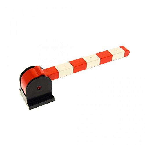 1-x-lego-duplo-schranke-schwarz-weiss-rot-hebel-kurz-fur-eisenbahn-schiene-zug-bahnubergang-bahnschr