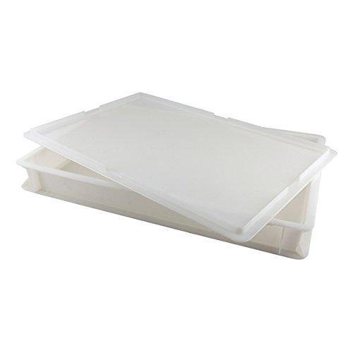 Genware nev-db-14Teig Karton mit GAP, 60cm x 40cm x 7,5cm, 14l, Weiß -