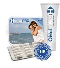 HemaPro gegen Hämorrhoiden | Effektives Kombipack: Creme und Kapseln | Wirksame Hämorrhoidensalbe und Tabletten, auch präventiv