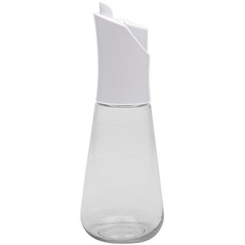 Zakdesigns 1358-P660 Bouteille d'Huile et de Vinaigre ABS/ Tritan Blanc/Transparent 45 x 35 x 25 cm 300 ml