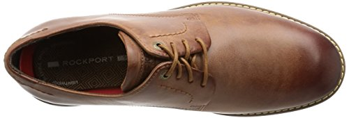 Rockport Classic Break Plain Toe, Derby homme Marron - Braun (New Cognac)