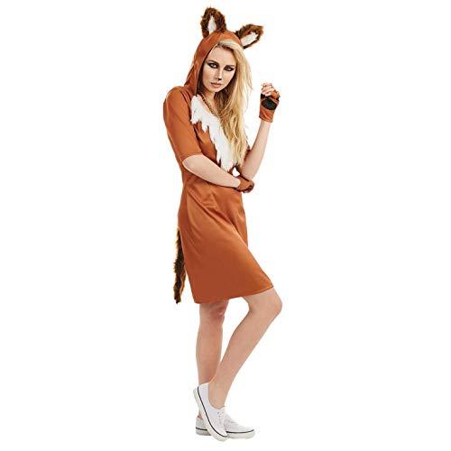 Fun Shack Damen Costume Kostüm, Fuchs, m (Fun Kostüm Frauen)