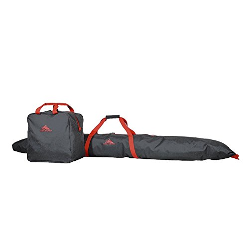 High Sierra Ski Bag & Ski Boot Bag Combo Bundle (Boot Ski-und Bag Combo)