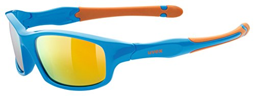 Uvex Kinder sportstyle 507 Sportbrille, blue-orange, One Size