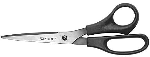 Westcott All Purpose Value Scissors, Black, 8