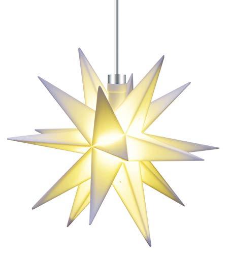 Lovely 3D LED Stern Ø 12 Cm Weihnachtsstern Batterie Ministern Innen Kunststoff  Stern Klein Leuchtstern Deko Für