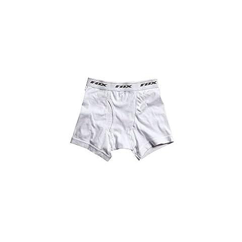 Fox White Branded Boxer Shorts