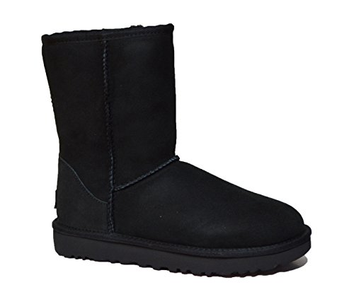 ugg-australia-new-classic-short-boot-made-with-water-resistant-material-uk55-black