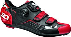 Chaussures Route Sidi Alba Noir-Rouge - Taille 44