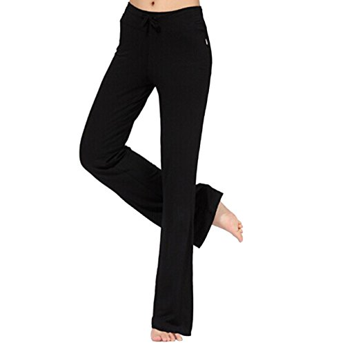 Tkria Sport donna lunghi pantaloni Palestra Fitness Collant Sport Wear Yoga Pants in cotone (L XL XXL) - Adidas Stati Corto