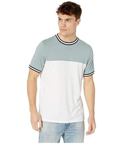 Ted Baker Silva T Shirt in Pale Green & White M (Ted Für Männer T-shirts Baker)