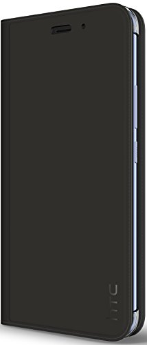 HTC U11 Leather Flip Case, Dark Grey - HC C1322