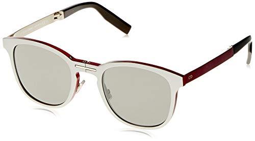 Dior al13.11 sf 011 occhiali da sole, argento (pallad matte/black sp), 52 uomo