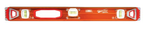 SWANSON 24-INCH I-BEAM LEVEL NON-MAGNETIC WITH GEL END CAP