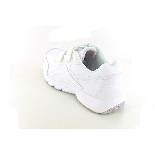 Reebok  WORK N CUSHION KC, Chaussures dathlétisme homme Blanc - Blanc