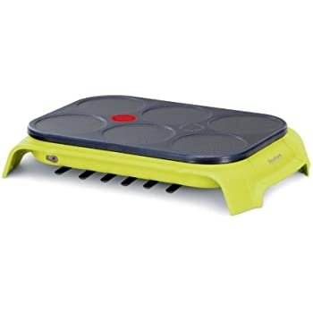 Tefal PY557O12 Crêpière Party Colormania On / Off