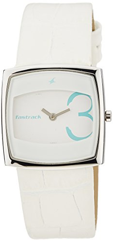 Fastrack Economy Analog White Dial Women's Watch - NE6013SL02 image