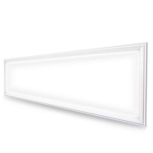 LED Panel Deckenleuchte,Anten 30x120cm Ultraslim 48W Kaltweiß Wandleuchte Hängeleuchte mit Befestigungsmaterial und LED Treiber/Trafo, Höhe verstellbar, 2 Jahre Garantie