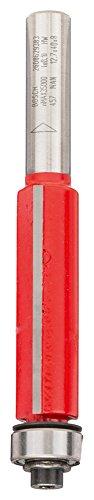 Bosch Professional Bündigfräser (für Holz, Schaft 8mm, Ø12,7mm, Arbeitslänge 40mm, Gesamtlänge 83,9mm)