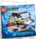 LEGO 4900 Feuerwehr Hubschrauber - 34teilig